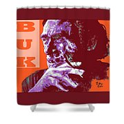 Buk  Shower Curtain