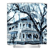 Bull Street House Savannah Ga Shower Curtain