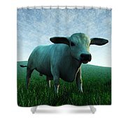 Bull... Shower Curtain