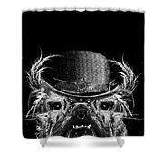 Mr. Bulldog Shower Curtain