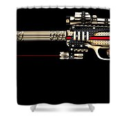 Bullet Bag Shower Curtain