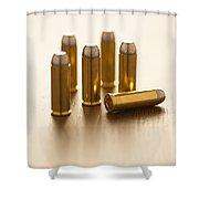 Bullets Shower Curtain