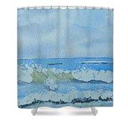 Bulli Beach Shower Curtain