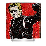 Bullitt IIi Shower Curtain by Chris Mackie