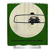 Bullitt Poster Shower Curtain