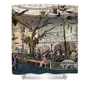 Bullocks Museum, 22 Piccadilly, London Shower Curtain