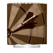 Bullseye Baby Shower Curtain