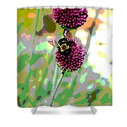 Bumblebee2 Shower Curtain