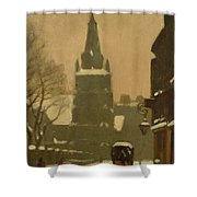 Bunhill Row Shower Curtain