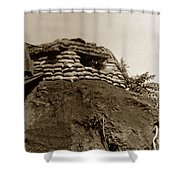 Bunker Above The Dak Poko River Near Dak To Kontum Province Vietnam 1968 Shower Curtain