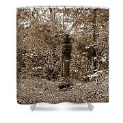 Bunker Airvent Shower Curtain