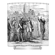 Bunker Hill, 1775 Shower Curtain