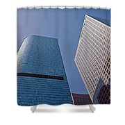 Bunker Hill Financial District California Plaza Shower Curtain
