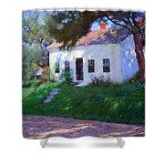 Bunker's Roadside Cottage Shower Curtain