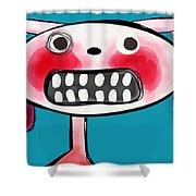 Bunnibuns Shower Curtain by Kelly Jade King