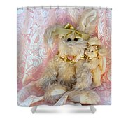 Bunny Lace Shower Curtain