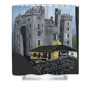 Bunratty Castle And Durty Nellys Shower Curtain