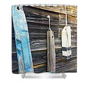 Buoyant  Shower Curtain