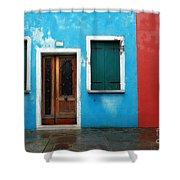 Burano 7 Shower Curtain