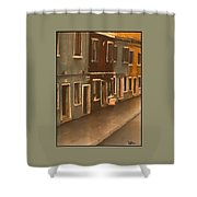 Burano Italy   No 2 Shower Curtain