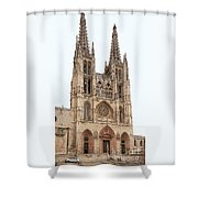 Burgos Cathedral Spain Shower Curtain