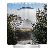 Burke Above The Fog Shower Curtain