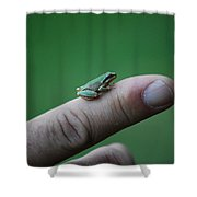 #itsnotacadillac Shower Curtain