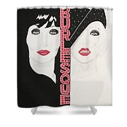 Burlesque Shower Curtain