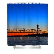 Burlington Bristol Bridge Shower Curtain