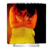 Burned Shower Curtain by Jessica Shelton