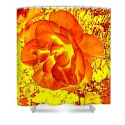 Burning Passion Shower Curtain