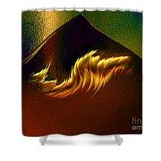 Burning Winds Across The Sahara  Shower Curtain