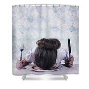 Burnout Shower Curtain by Joana Kruse