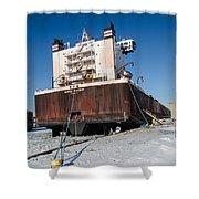 Burns Harbor Shower Curtain