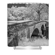 Burnside Bridge 0239 Shower Curtain by Guy Whiteley