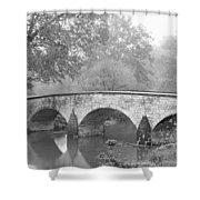 Burnside Bridge Antietam National Shower Curtain
