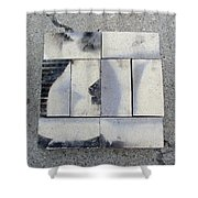 Burnt Brick 1 Shower Curtain