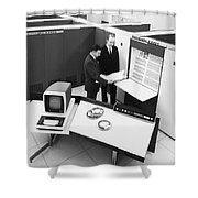 Burroughs 6500 Computer System Shower Curtain