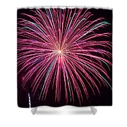 4th Of July Fireworks 24 Shower Curtain
