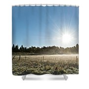 Burst Of Sunshine Shower Curtain
