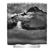 Bursting Thrugh The Clouds Shower Curtain