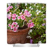 Bursting With Blooms Shower Curtain