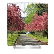 Bursting With Spring Shower Curtain