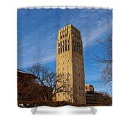 Burton Memorial Tower Shower Curtain
