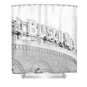 Busch Sta Line Shower Curtain