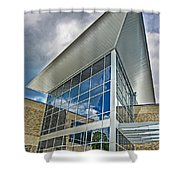 Business Building Shower Curtain