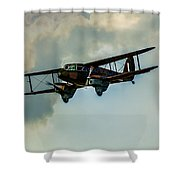 Business Class Travel In The 1930s Shower Curtain