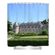 Bussy - Rabutin Palace Garden  Shower Curtain