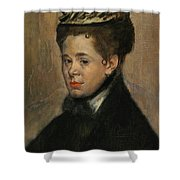 Bust Of A Woman Shower Curtain