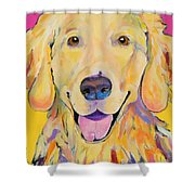 Buster Shower Curtain by Pat Saunders-White